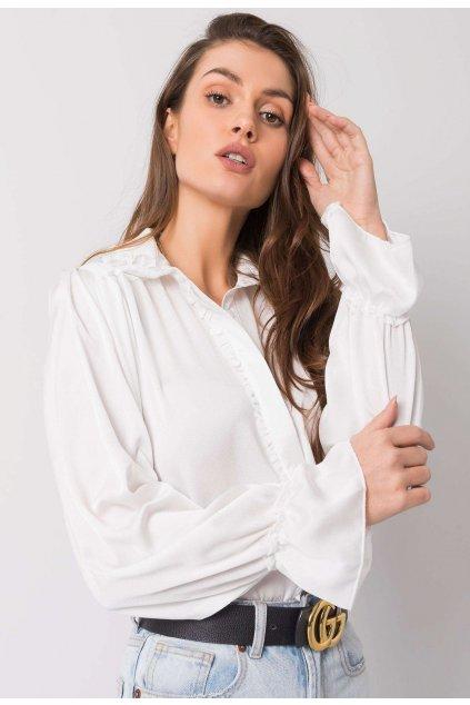Bílá dámská košile
