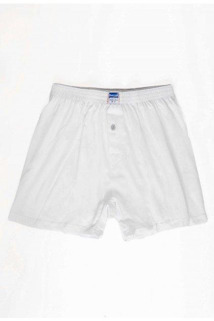 Bílé pánské boxerky
