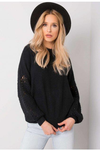 Černý dámský svetr