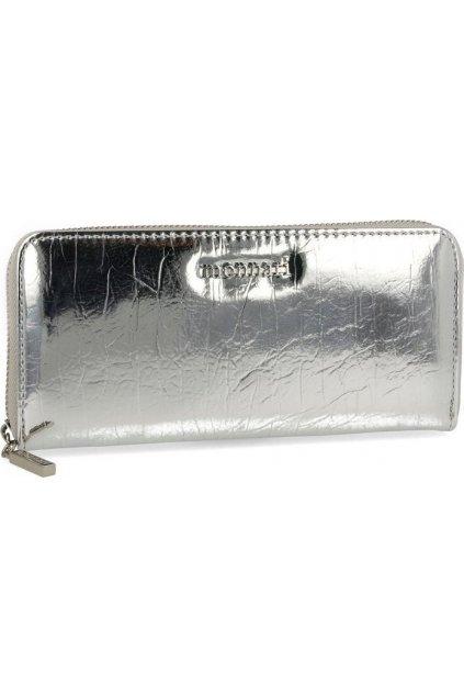 Šedá dámská peněženka