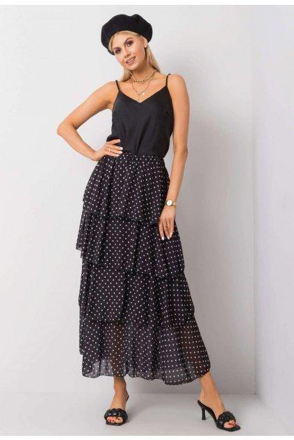 Černá dámská sukně