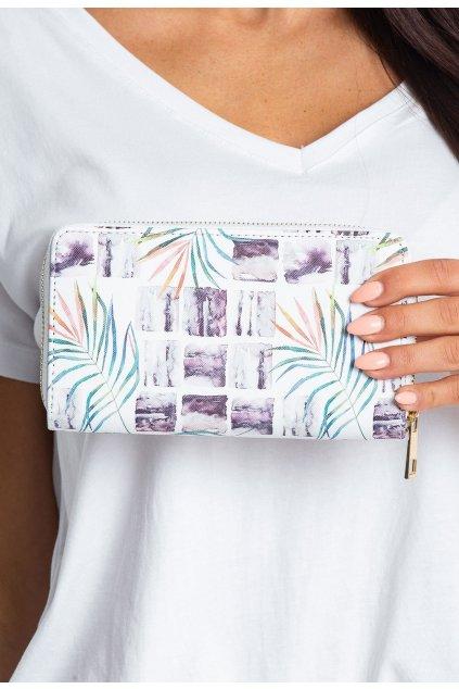 Bílá dámská peněženka