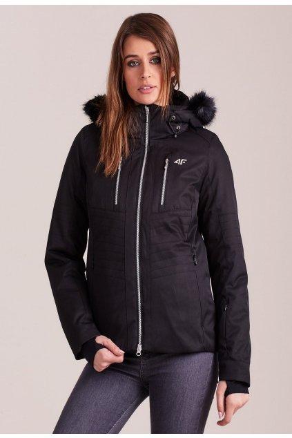 Černá dámská zimní bunda