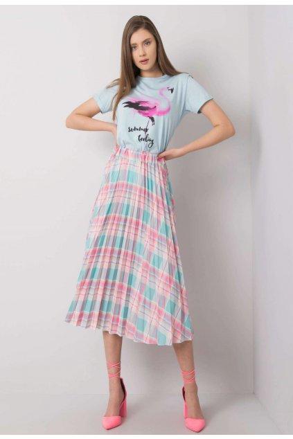 Mátová dámská plisovaná sukně