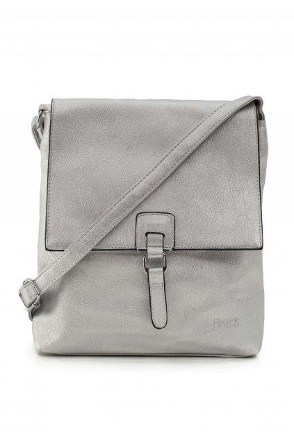 Stříbrná dámská kabelka