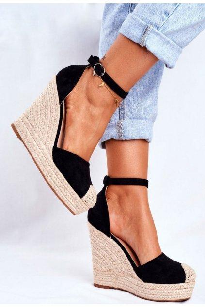 Vícebarevné dámské sandály