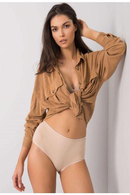 Béžové dámské kalhotky