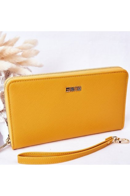 Žlutá dámská peněženka