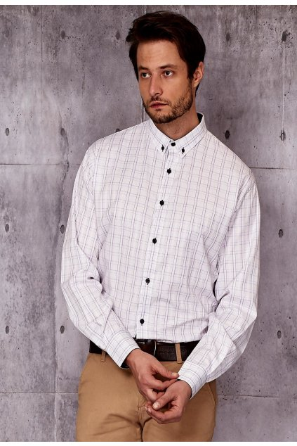 Bílá pánská košile
