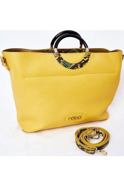 Žlutá dámská kabelka