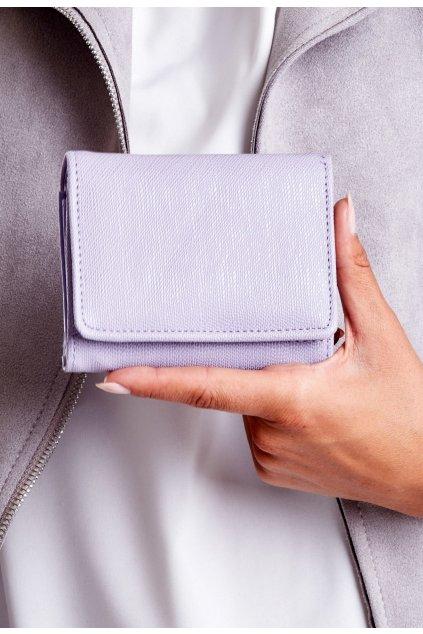 Fialová dámská peněženka