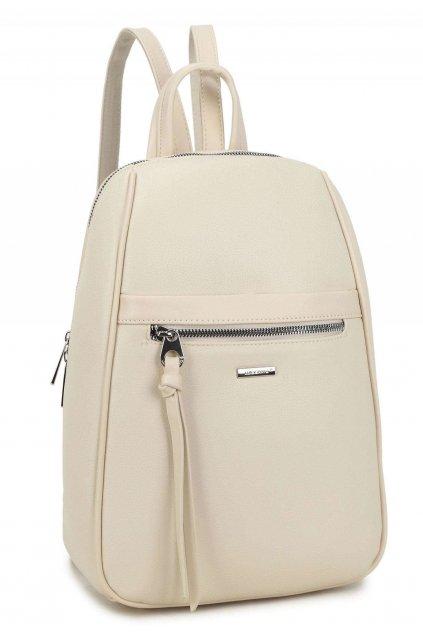 Krémový dámský batoh
