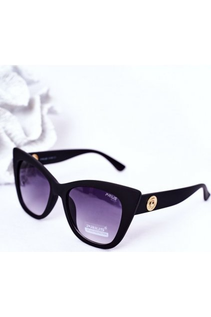 Černé dámské sluneční brýle