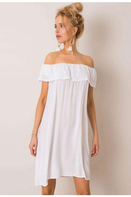 Bílé dámské boho šaty