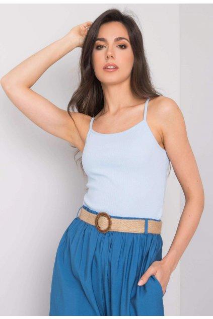 Modrý dámský top