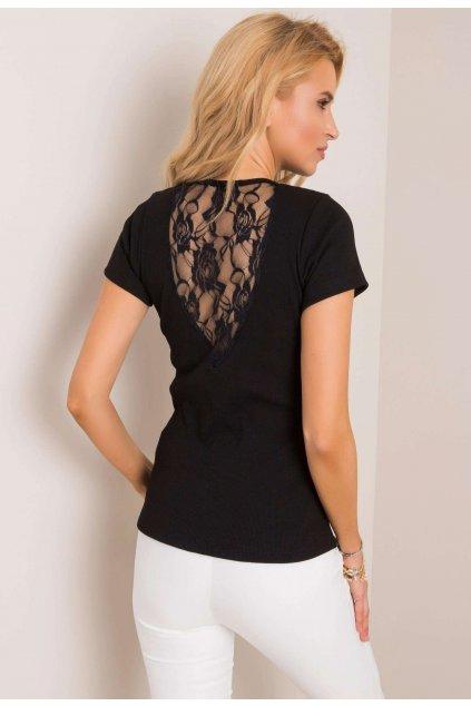 Černé dámské tričko