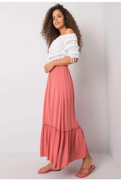 Růžová dámská sukně