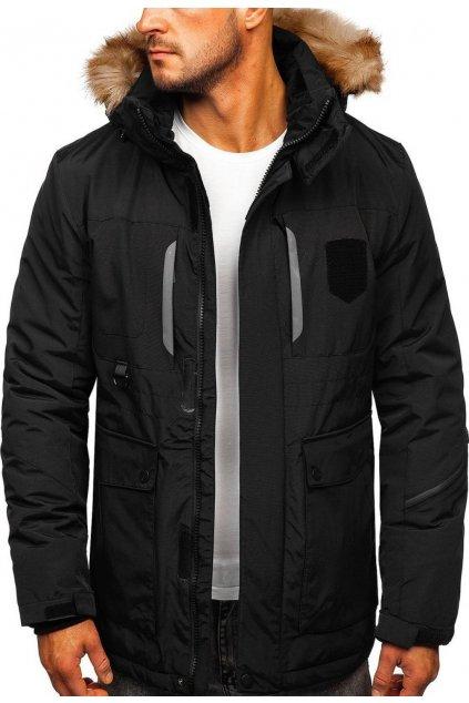 Černá pánská bunda