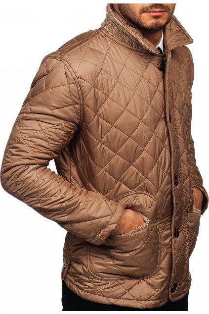 Béžová pánská bunda