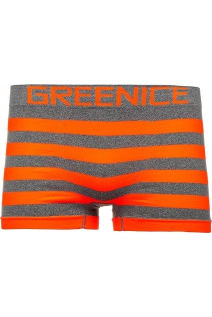 Oranžové pánské boxerky