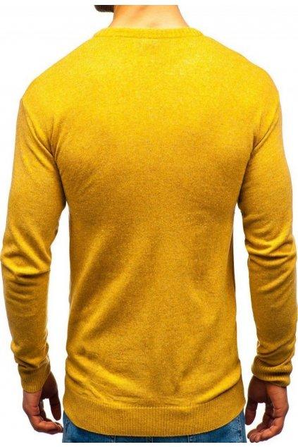 Hnědý pánský svetr