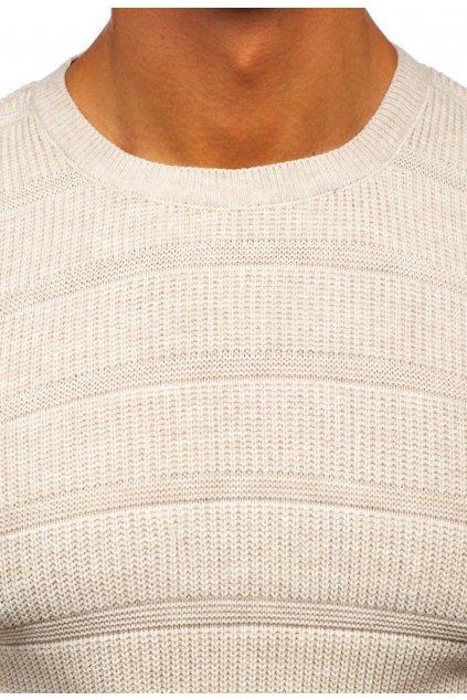Béžový pánský svetr