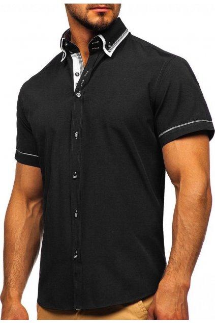 Černá pánská košile