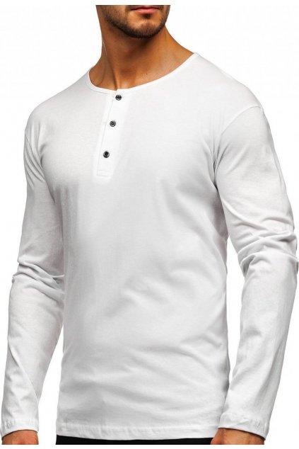 Bílé pánské tričko