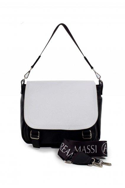 Černo - bílá dámská kabelka
