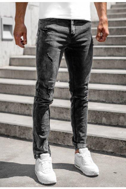 Černé pánské džíny