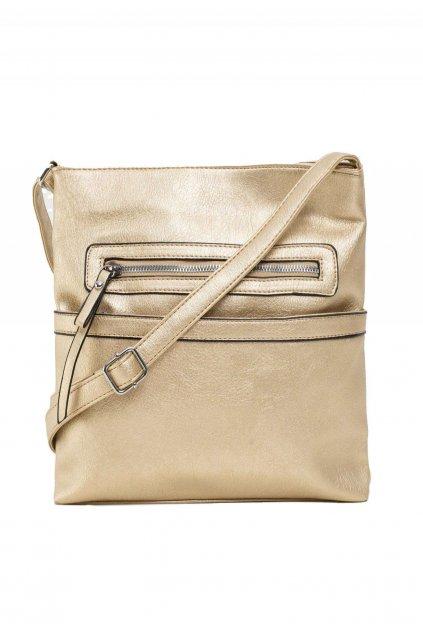 Zlatá dámská kabelka