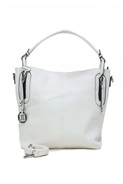 Bílá dámská kabelka
