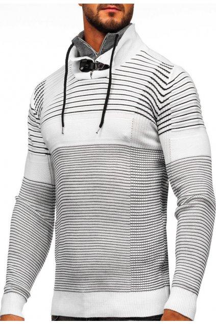 Bílý pánský svetr