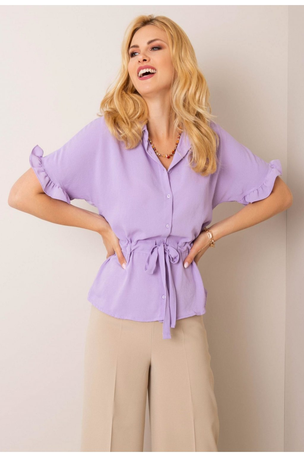 Lila női ing