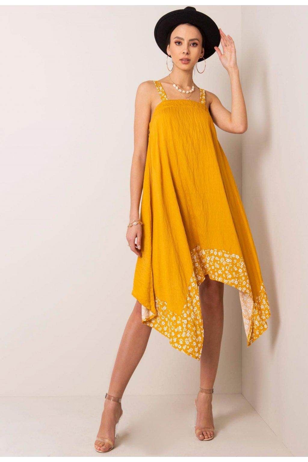 Sárga női ruha