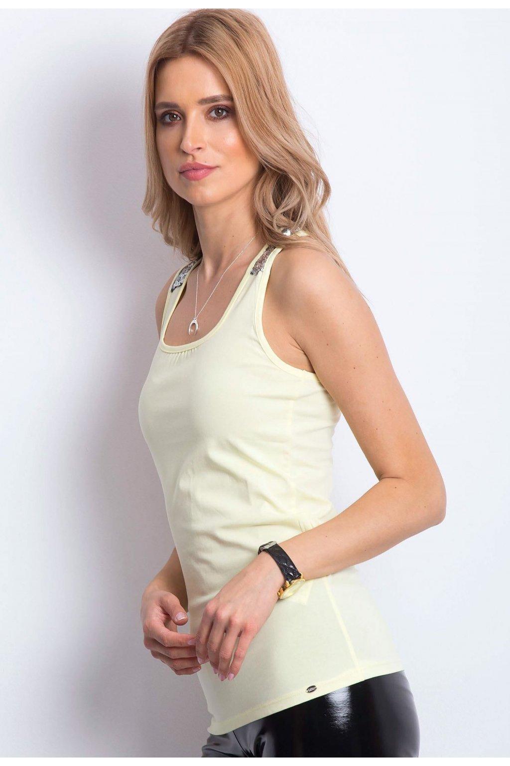 Sárga női top