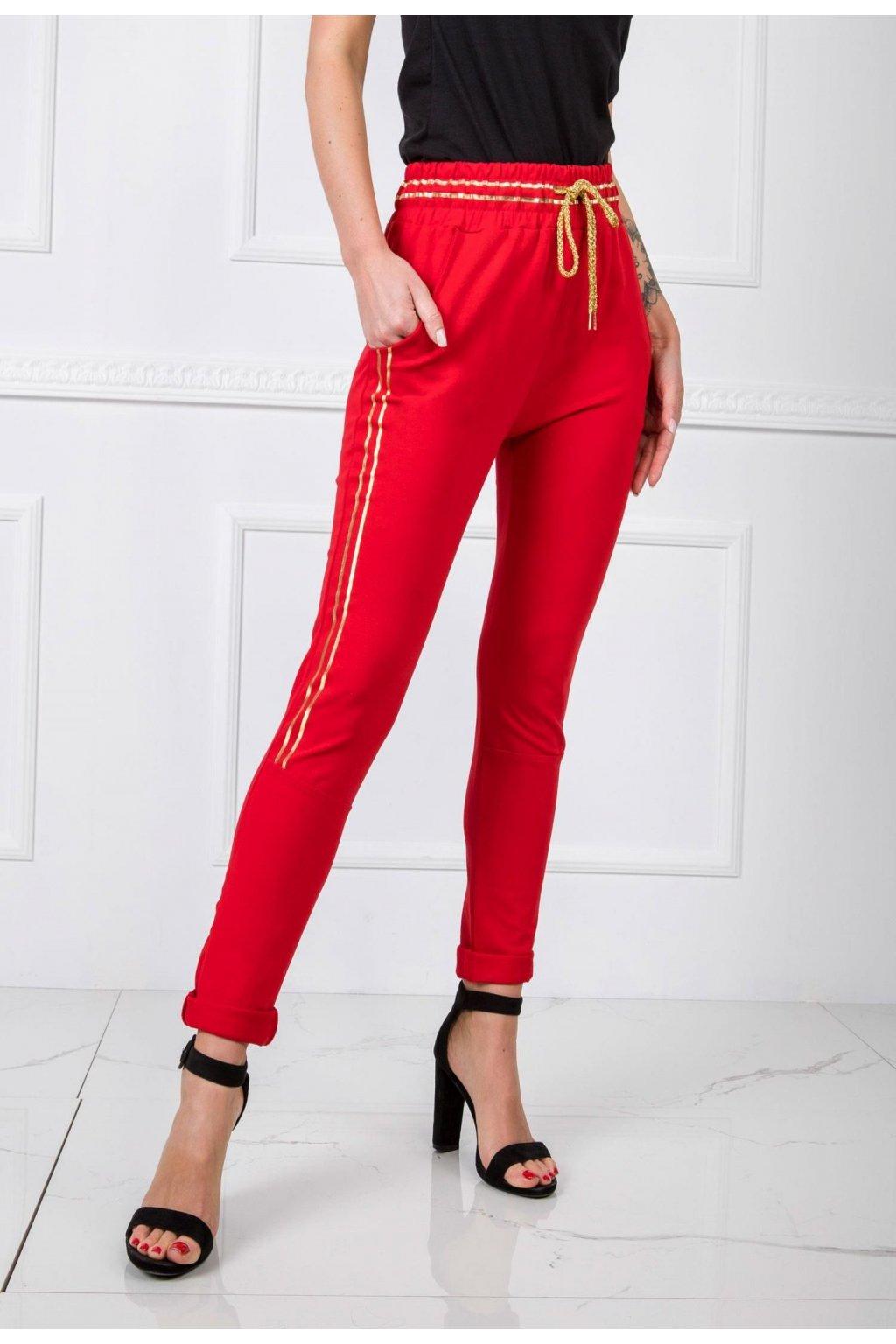Piros női melegítőnadrág