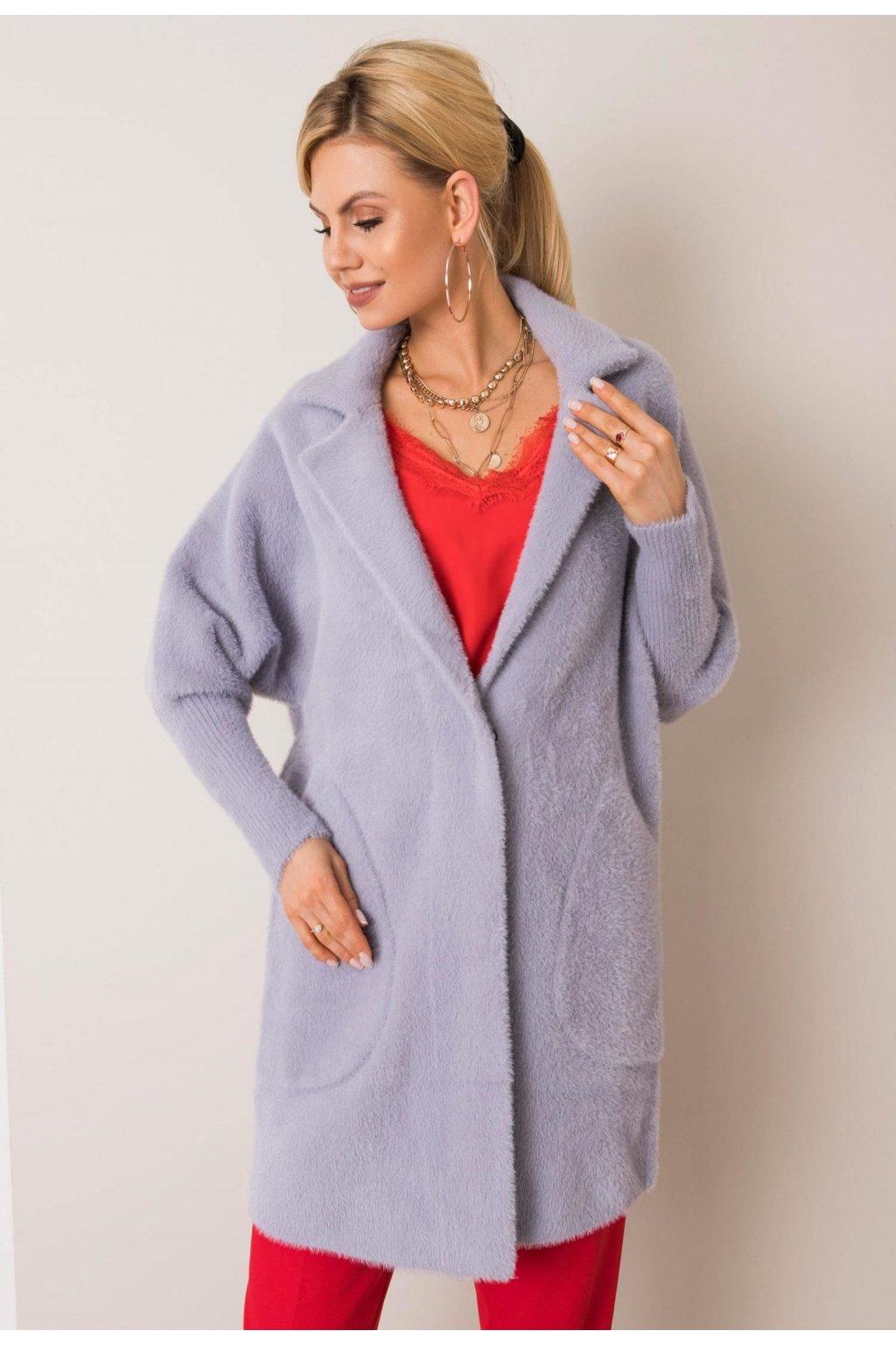 Szürke női kabát