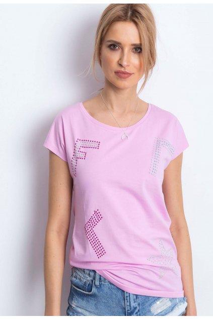 Lila női póló