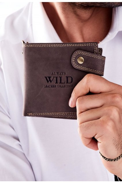 Barna férfi pénztárca