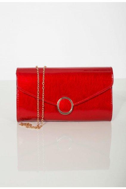 Piros női estélyi táska