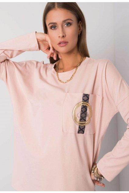 Rózsaszín női blúz