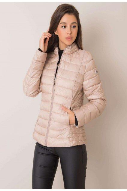 Bézs női átmeneti dzseki