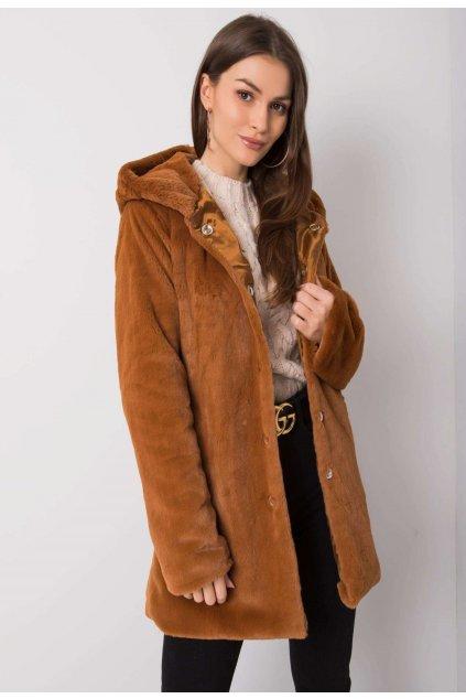 Barna női kabát