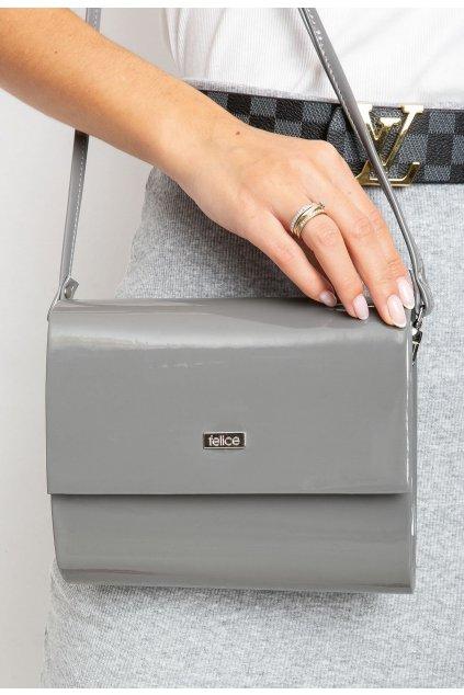 Szürke női estélyi táska