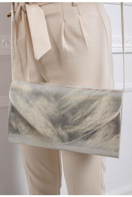 Ezüst női estélyi táska