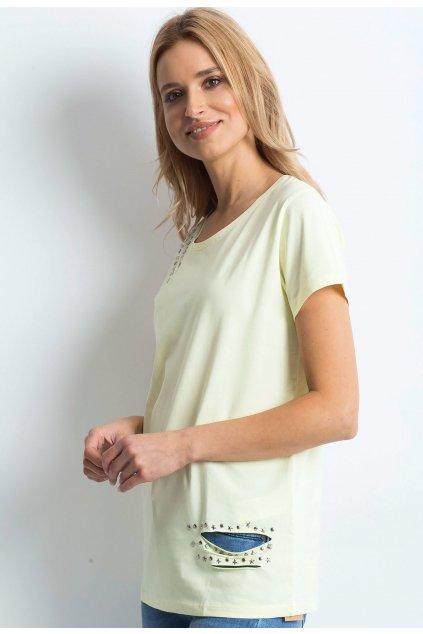 Sárga női póló