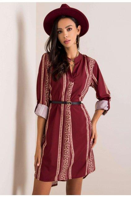 Burgundia női ruha