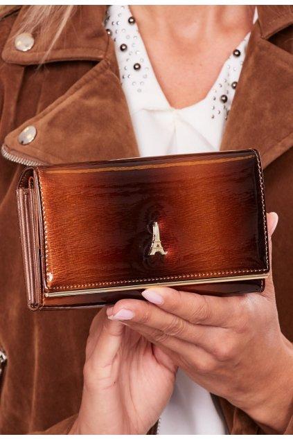 Barna női pénztárca