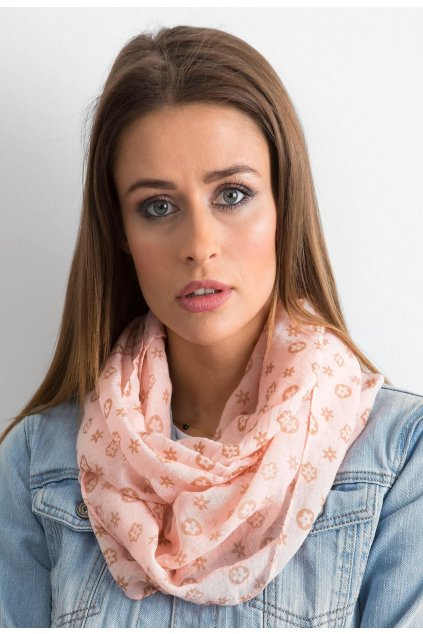 Rózsaszín női kendő